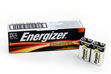 NEW LOT OF 12 ENERGIZER  9 VOLT ALKALINE BATTERY 9V BATTERIES EXP 12/2021