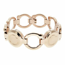 Bioflow Magnotherapy PIROUETTE Rose Gold (wrist to 180mm) Natural Healing!