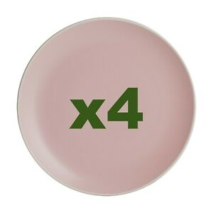 4 x Mason Cash Classic Collection Side Plates- 20.5cm  Pink  [4233]