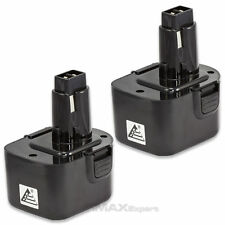 2 x 12V Ni-Cd PS130 Battery for Black & Decker, Firestorm 12 Volt Cordless Drill