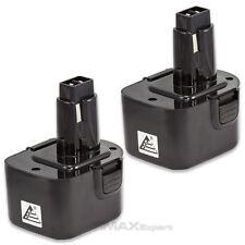 2 x 12V Ni-Cd PS130 Battery for Black & Decker, Firestorm 12 Volt Cordless Drill