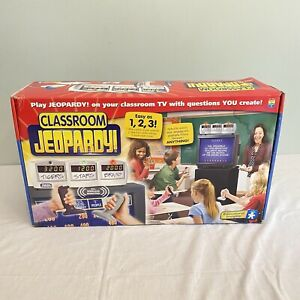 Classroom Jeopardy! Educational Insights School Game, EI-7910