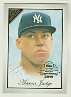 2019 Topps Gallery PREVIEW National Baseball Card Day #GP-AJ AARON JUDGE Yankees