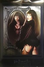 When Darkness Falls 23x35 Vampire Pin Up Girl Poster 2004