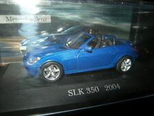 1:43 Ixo MERCEDES-BENZ SLK 350 r171 2004-2009 BLU/BLUE IN SCATOLA ORIGINALE