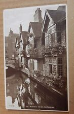 Postcard IThe Weavers house Canterbury posted 1940   A001