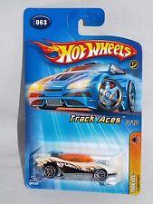 Hot Wheels 2005 Track Aces #63 Flashfire White w/ 10SPs