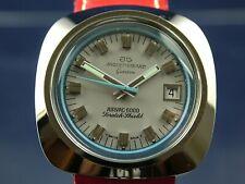 NOS Vintage Jaquet Girard Airvac 6000 Automatic Watch 1970s Cal ETA 2783