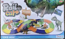 Dinosaur Interactive 133 Pieces Puzzle + Tracks &  5x Dinosaurs