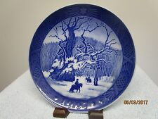 Vintage Royal Copenhagen Collector Plate Made in Denmark The Royal Oak