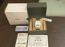 Very Rare Seiko A680-4001 Talking Watch Japanese Version NOS (New Old Stock)