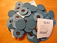 "Lot of (75)  3M Scotch-Brite Roloc Surface Cond. Disc, 3"" 05530 Very fine"