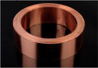 1pcs 99.9% Pure Copper Cu Metal Sheet Foil 0.15 x 50 x 1000 mm