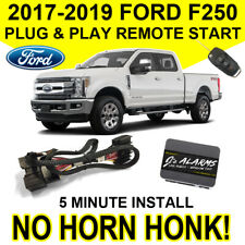 2017-2019 Ford F-250 Remote Start Plug & Play No Horn Honk F250 Super Duty FO2N