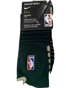 NBA Nike Elite Socks Milwaukee Bucks. Men 6-8. Women 6-10. Youth 5Y-7Y.