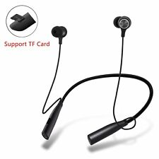 Sport Wireless Bluetooth Headset Neckband Headphone For iPhone X Samsung HTC LG