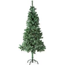 Sapin de Noël Arbre de Noel Artificiel 533 Branches + Pied En Métal 180cm Vert
