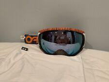 Oakley Canopy, Factory Pilot Bengal Orange w/ Prizm Sapphire Iridium