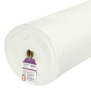 BIRCH Iron-on Fusible Quilt Wadding 70% Poly / 30% Viscose - per metre