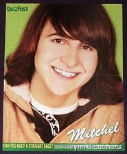 Mitchel Musso Poster Centerfold 623A  Avril Lavigne on the back