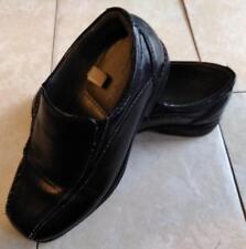 Cherokee Black Comfort Zone Slip On Loafers - Boys Size 13