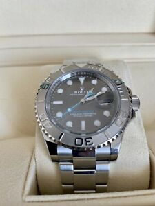 Rolex Yachtmaster  40mm 116622 Rhodium Dial , Box and Papers.