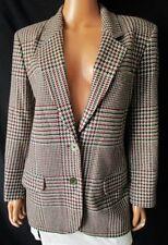 ***FIORELLA RUBINO GIACCA JACKET  TG.42 pura lana vergine Lanificio FERRARINI