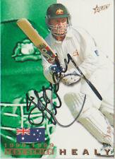 SIGNED CARD - IAN HEALY - 1998 SELECT - AUSTRALIA