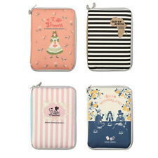 Fabric Book Cover Case Pouch Stationery Organizer