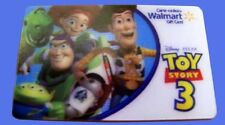Wal-Mart TOY STORY 3 lenticular gift card