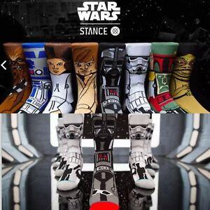 Return of Jedi Luke Skywalker hope STANCE STAR WARS RED GUARD Large Socks New