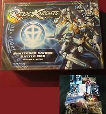 Soda Pop SPM142001 Relic Knights Shattered Sword Battle Box Paladins Faction NIB