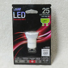 FEIT ELECTRIC LED DIMMABLE MR11 GU10 25 WATT REPLACEMENT BULB ONLY 4W 240 LUMENS