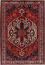 Black Friday Deal Medallion Hand-Made Bakhtiari Geometric Area Rug 7x10 Carpet
