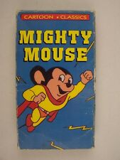 Cartoon Classics Mighty Mouse and Heckel and Jeckel VHS Video Tape