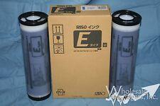 2 Genuine Riso S-7198 Medium Blue Ink Risograph S-4261 E Type Inks RZ MZ EZ