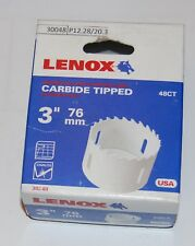 Lenox holesaw 76mm for ceramic tile and stainless steel