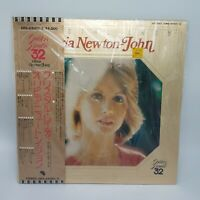 OLIVIA NEWTON-JOHN Japan 1974 2-LP's + Obi CRYSTAL LADY GOLDEN DOUBLE Near Mint