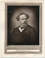 Alexandre Dumas fils, romancier et dramaturge (1824-1895) Galerie Contemporaine.