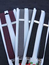 Bretelles noires pour garçon de 2 à 16 ans