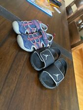 Boys Size 8C Nike Sandals And 8c Mickey Mouse Light Up Sandals