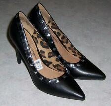 "CHRISTIAN SIRIANO Habit NEW Womens Size 6.5M Black Pumps 3 3/4"" High Heels"