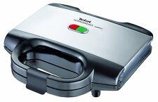 Tefal Sandwich Toaster UltraCompact Edelstahl 2Antihaftbeschichtete Toastplatten