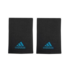 adidas Tennis Wristbands L Sports Badminton Sweatband Black Racket 2 PC H3899