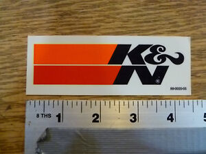 K/&N Filters NHRA Horsepower Challenge  Sticker Decal