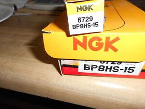 4  NGK Standard Plug Spark Plugs  BP8HS-15