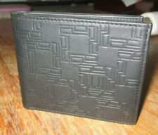 DUNHILL man wallet  D-eight leather billfold 6 + 2 cc calf skin new without box