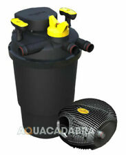 @ Laguna Clear Flo 6000 Complete Pressure UV Pond Filter & Max Flo Pump Kit Fish