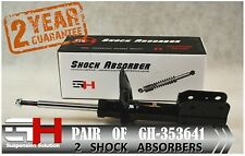 2 NEW FRONT GAS SHOCK ABSORBERS FOR OPEL / VAUXHALL SINTRA /// GH 353641 ///