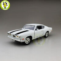 1/18 1969 PLYMOUTH BARRACUDA Road Signature Diecast Model Car Toys Boys GiftS